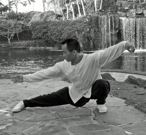 Philip Leung doing Tai Chi